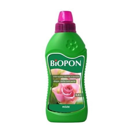 BIOPON Nawóz do róż płyn 0,5l