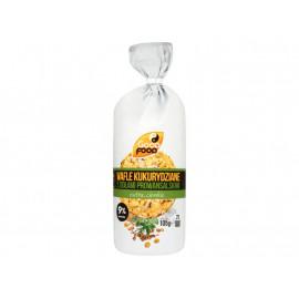 Good Food Extra cienkie wafle kukurydziane z ziołami prowansalskimi 105 g (21 sztuk)