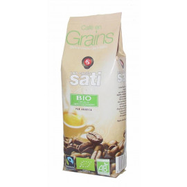 SATI CAFE BIO FAIRTRADE KAWA ZIARNISTA 250G