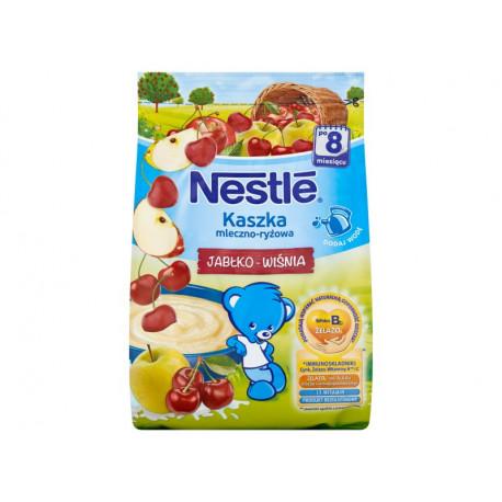 Nestlé Kaszka mleczno-ryżowa jabłko-wiśnia po 8 miesiącu 230 g