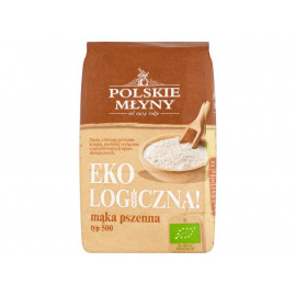 Polskie Młyny Ekologiczna! Mąka pszenna typ 500 1 kg
