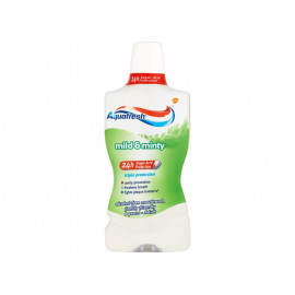 Aquafresh Triple Protection Mild & Minty Płyn do płukania jamy ustnej 500 ml