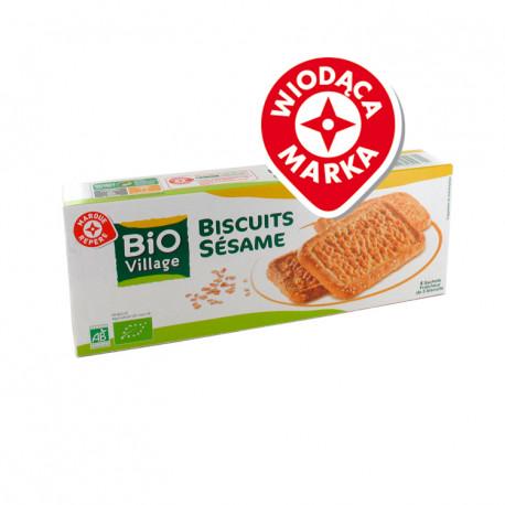 Herbatniki sezamowe - 20 sztuk. Produkt rolnictwa ekologicznego.
