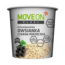 Owsianka  MOVE ON plus czarna porzeczka  z witaminami 70g