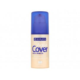 Soraya Aqua Cover Aksamitny podkład z kwasem hialuronowym 204 opalony 30 ml