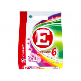 E Active-Enzym 6 2in1 Floral Color Proszek do prania 3 kg (40 prań)