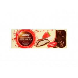 Wawel Czekoladowe całusy Jogurtowo-truskawkowa Czekolada mleczna nadziewana 288 g