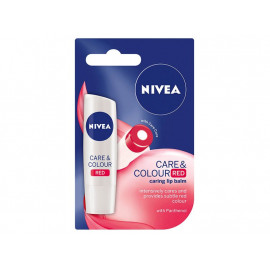 NIVEA Care & Color Red Pomadka do ust 4,8 g