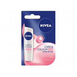 NIVEA Care & Color Rose Pomadka do ust 4,8 g