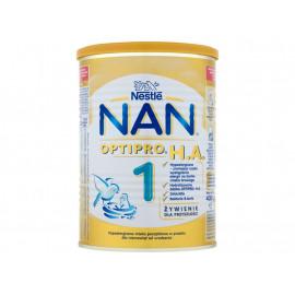 Nestlé Nan Optipro H.A. 1 Hypoalergiczne mleko początkowe w proszku dla niemowląt od urodzenia 400 g