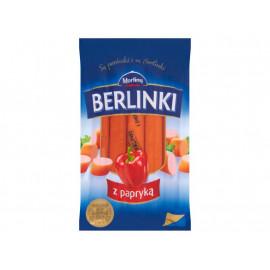 Morliny Berlinki z papryką Parówki 250 g