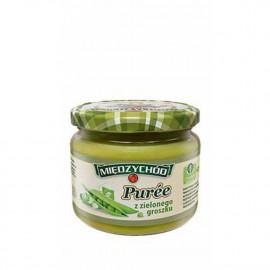 Międzychód Puree z zielonego groszku słoik 300 g