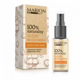 Marion Eco - 100% naturalny olejek z ORZECHÓW MAKADAMIA skóra sucha, wrażliwa, podrażniona 25ml