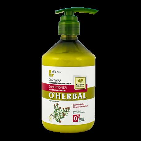 O'Herbal Odżywka do włosów farbowanych z ekstraktem z macierzanki tymianku 500ML