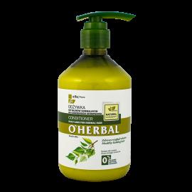 O'Herbal Odżywka do włosów normalnych do codziennego stosowania z ekstraktem z brzozy 500ml