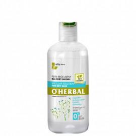 O'Herbal Płyn micelarny dla cery suchej z ekstraktem z lnu 250 ml