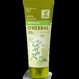 O'Herbal dezodorujący krem do stóp z ekstraktem z krwawnika 75ml
