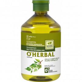 O'Herbal Szampon do włosów normalnych do codziennego stosowania z ekstraktem z brzozy 500ml