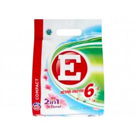 E Active-Enzym 6 2in1 Floral White Proszek do prania 3 kg (40 prań)