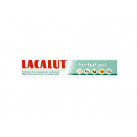 Lacalut Herbal gel Pasta do zębów 75 ml