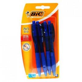 BIC Długopis automatyczny Bu3 Grip  4szt.