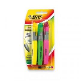 BIC Zakreślacz Brite Liner XL mix kolor 3 sztuki