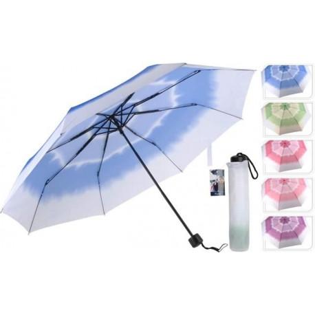 Parasol składany ombre, mix