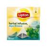 Lipton Alps Breeze Herbatka ziołowa aromatyzowana 22 g (20 torebek)