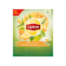 Lipton Herbata zielona cytrusowa 130 g (100 torebek)