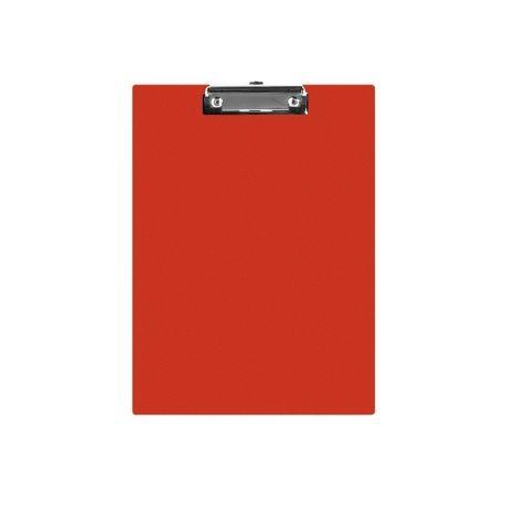 Q-CONNECT Podkładka A5 Clipboard deska PVC czerwona