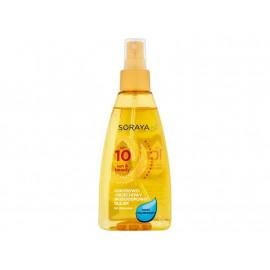 Soraya Sun & Beauty Kokosowo-orzechowy wodoodporny olejek do opalania SPF 10 150 ml