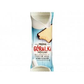Góralki mleczne Wafelki z kremowym nadzieniem w polewie kakaowej 50 g
