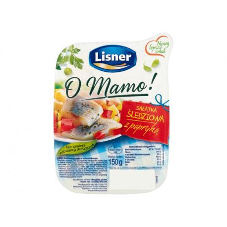 Lisner O Mamo! Sałatka śledziowa z papryką 150 g