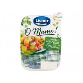 Lisner O Mamo! Sałatka warzywna z groszkiem 150 g