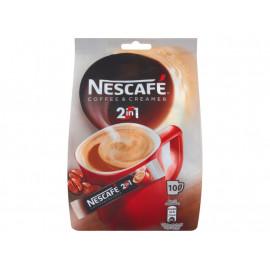 Nescafé Coffee & Creamer 2in1 Rozpuszczalny napój kawowy 80 g (10 saszetek)