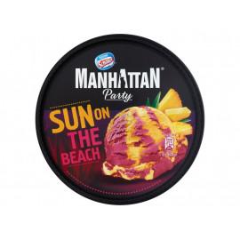 Manhattan Party Sun on The Beach Lody ananasowe i lody wodne o smaku żurawinowym 1000 ml