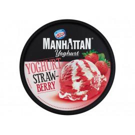 Manhattan Yoghurt Lody jogurtowo-truskawkowe 946 ml