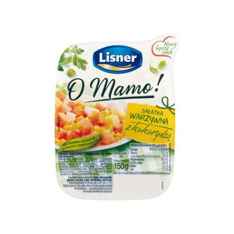 Lisner O Mamo! Sałatka warzywna z kukurydzą 150 g