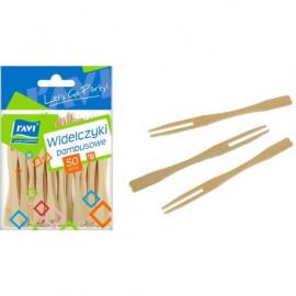 Ravi Widelczyki bambusowe 50szt.
