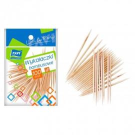 RAVI Wykałaczki Bambusowe 100szt.