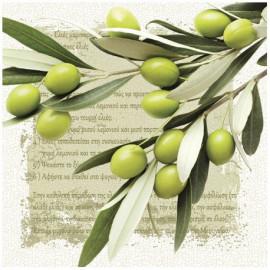 PAW Serwetki gałązka oliwna, 20 szt.
