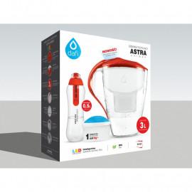 Dzbanek Astra Led z wkładem magnezowym + butelka z filtrem (mix kolorów)