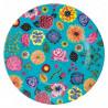 Talerz z melaminy w kwiaty, mix