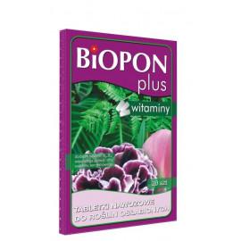 BIOPON PLUS tabletki nawozowe z witaminą do roślin osłabionych 20SZT
