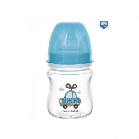Canpol babies Butelka szerokootworowa antykolkowa EasyStart 120 ml
