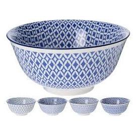 AMSTERDAM Miska ceramiczna 15/8cm, mix wzorów