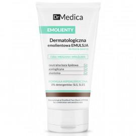 Dr Medica EMOLIENTY - Dermatologiczna emolientowa EMULSJA do mycia twarzy skóra MIESZANA i WRAŻLIWA 150g