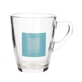 Kubek szklany / Szklanka HERBATA BIAŁA 310 ml