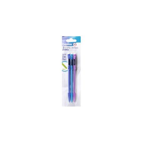 Wiodąca Marka Esquisse Ołówki Automatyczne Z Gumką 3 Kol.