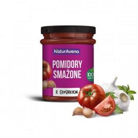 NATURAVENA Pomidory smażone z czosnkiem
